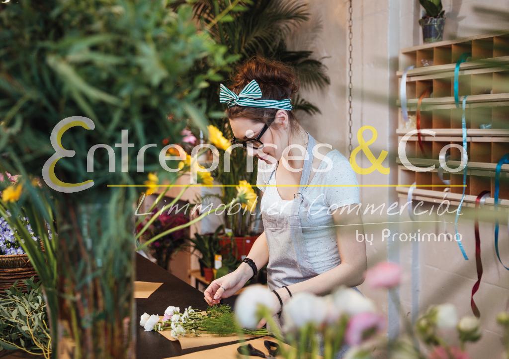 À vendre boutique de fleurs, fleuriste près de Rennes (35)
